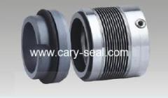 Low Temperature, General Duty Alloy-20 Metal Bellows Shaft Seal as John Crane 680 type