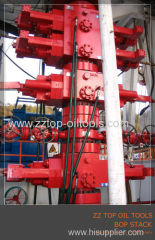 Wellhead BOP stack Double Ram Blowout preventer