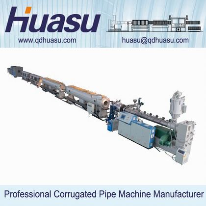 PE Gas/Water Supply Pipe Extrusion Line