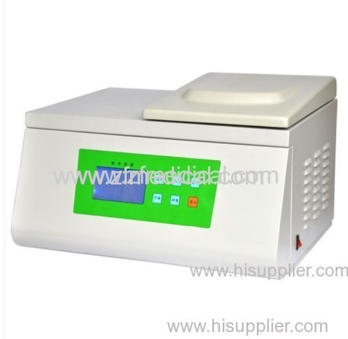 Medical refrigerated centrifuge table high speed