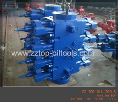 Wireline Unit BOP Oil well surface testing