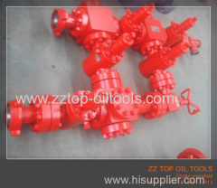 Drill floor manifold well surface
