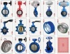 Soft-seal butterfly valve/wafer lug butterfly valve/ductile iron butterfly valve
