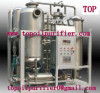 TOP vacuum vegetable oil purifier, stainless steel material, renew used oil to new, remove water, gas, particles