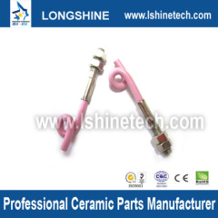 Wear textile ceramic hook