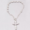 spiritual bead bracelet with cross jesus