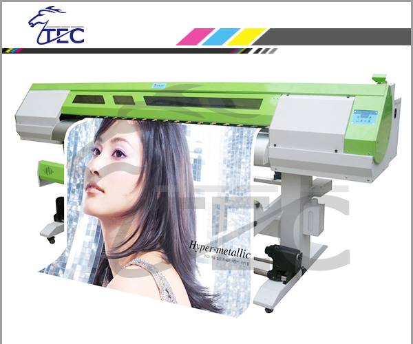 Eco Solvent Plotter / Banner Printer / Vinyl Printer with DX7 head , 1.8m