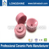 Bowl-shaped textile ceramic eyelet