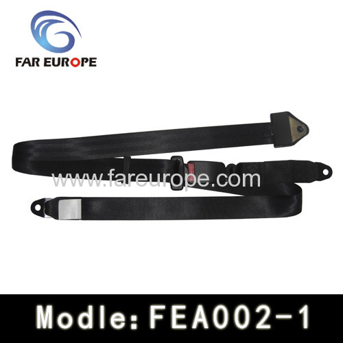 Automatical locking safety belt
