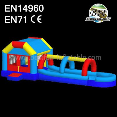 Inflatable Bounce House Water Slide Combo