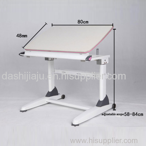height adjustable study table for students