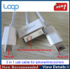 3 in 1 usb cable for iphone4 ipad mini,Micro USB for Samsung N7100,for iphone4/4s
