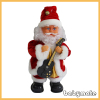 playing guitar and dancing Santa Claus