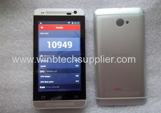 4inch dual sim super good phone mini one 800x480 hot selling phone