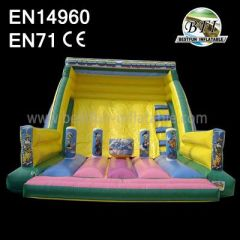 Big Inflatable Slide And Climb For Rentals