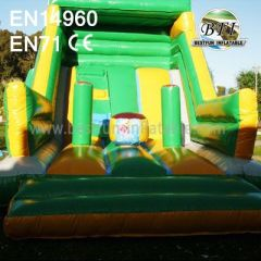 2014 Hot Sale Inflatable Giant Slide
