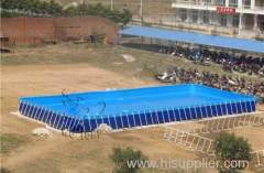 Steel Frame Pool large scale