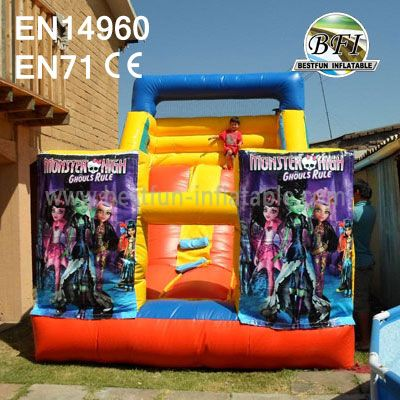 Girls Inflatable Playground Slide for Sale