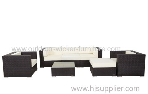 Europe sectional outdoor plastic sofa