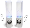 2013 Latest Dancing Water Mini Music Speakers USB Powered Colorful LED Fountain For iPhone iPod Samsung