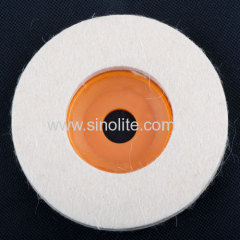 Woolen grinding pad for professionals.
