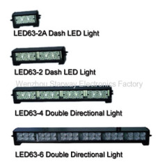 Double LED Directional Light Bar