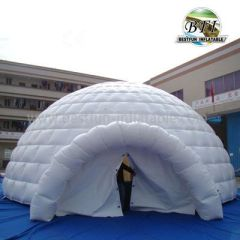 White Hot Sale Inflatable Dome Tent