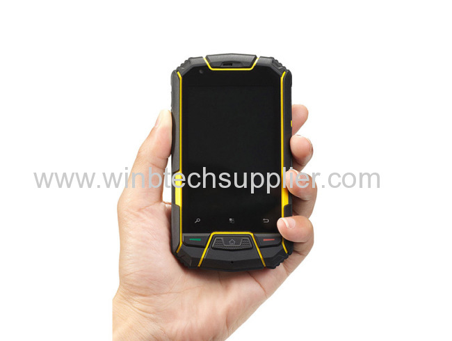 2014 BEST Waterproof android mobile phone DUSTPROOF COMPASS, BAROMETER, ALTIMETER,THERMOMETER Snopow M6 Phonethe
