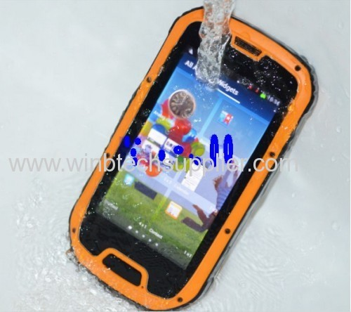 original MTK6589 Quad Core Unlocked Android 4.2 rugged cellphone IP68 Military army S09 Waterproof phone Dustproof x5 m6