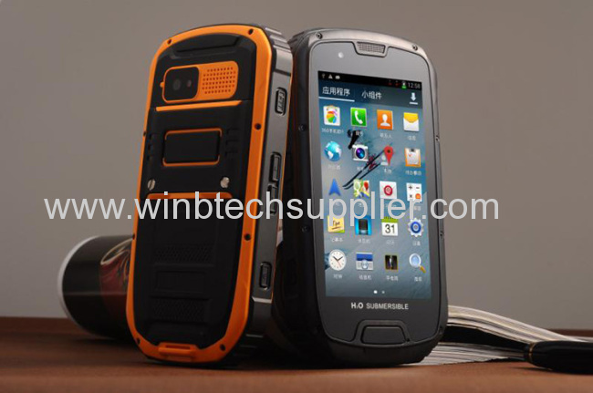 original MTK6589 Quad Core Unlocked Android 4.2 rugged cellphone IP68 Military army S09 Waterproof phone Dustproof