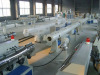 PVC pipe production line in plastic machinery