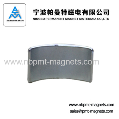 Arc Permanent NdFeB Magnet for motor