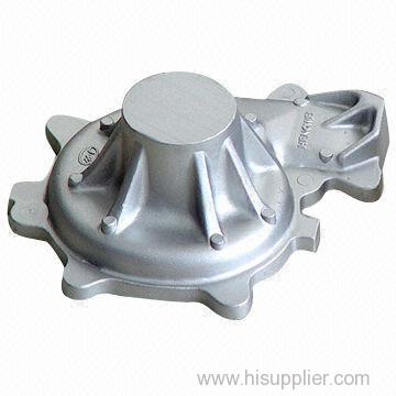Cast Metal Parts made of aluminum, zinc