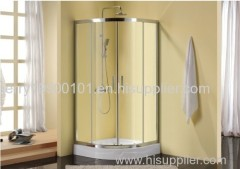 Shower enclosure with aluminum alloy frame cheap shower cubicle shower sanitary ware with tempered glass clear shower