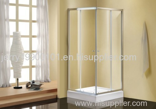 Shower enclosure shower bathroom cubicle with ABS shower tray shower room with clear tempered glasses