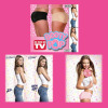 NEW Booty Pop ORIGINAL Padded Bum Shaper Enhancer Panties Beige or Black S-XL
