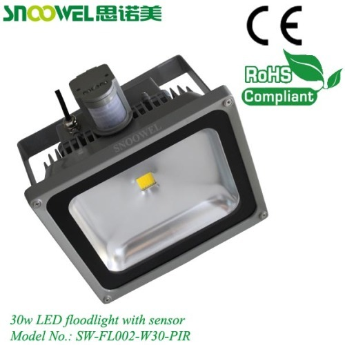 30W PIR sensor led floodlight