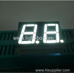 "Dual-digit 0.56"" common Cathode Ultra white 7 segent led display"