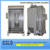 small powder spraying booth