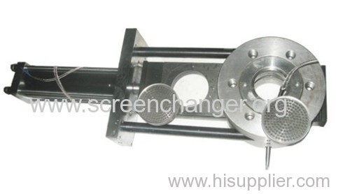 Plastic extruder screen filter