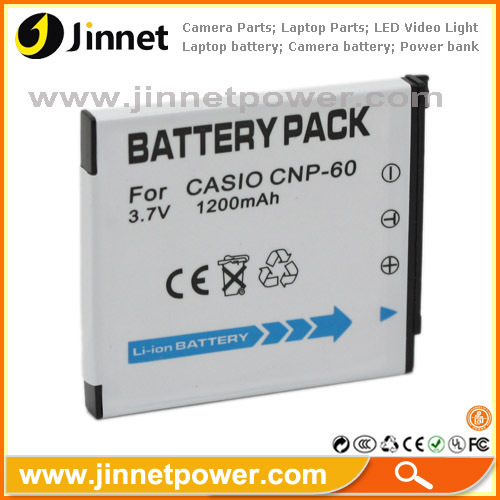 For Casio CNP60 replacement battery for Exilim Zoom EX-Z20 EX-Z25 EX-29