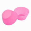 Fashionable silicone cupcake baking mould