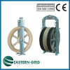 overhead transmission line stringing pulleys