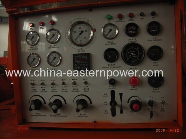 250KN Hydraulic Puller Power Transmission Equipment