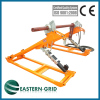 Hydraulic reel stand for max conductor drum weight 10T