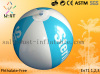 Advertising pvc inflatable beach ball with customer logo for promotion