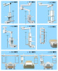 CE Medical Ceiling pendant for Medical Gas Pipeline System
