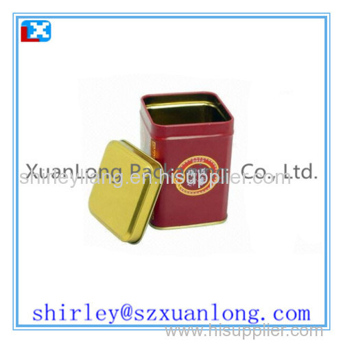 Low Price Empty Tea Tins Wholesale