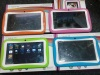 kid tab and children tablet pc 7inch 800x480 wifi dual camera educational software super good gift for child