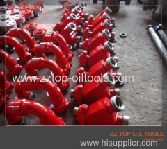 Wellhead Integral joint API 6A